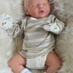 Buy Calimero reborn baby doll full body silicone Online